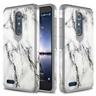 ZTE Zmax Pro/ Imperial Max Case, Dual Layer Shockproof Case + Screen Protector