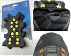 WINTER ICE ANT SLIP SNOW SHOE COVER SPIKES GRIPS CLEATS 10-STUD CRAMPONS GIFT