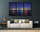 "New Orleans Skyline Downtown Louisiana Canvas Print Wall Decor Up To 60""x40"""