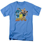 Booster Gold And Blue Beetle BFF DC Comics Licensed Adult T Shirt