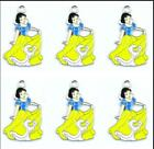lots Snow White Metal Charm Pendant DIY Necklace Jewelry Making