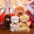 Fuzzy Friends Plush Sitting Bears, 9* 4 Choices US Seller