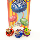 Battling Soda Bottle Spin Tops Pack Of 3 Vintage Style Classic Kids Toys