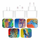 OFFICIAL DAWGART WILDLIFE WHITE US CHARGER & MICRO-USB CABLE FOR HUAWEI PHONES 2