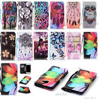 BOYA For Samsung Phone Case PU Leather Magnetic Flip Stand Wallet Cover+Strap