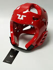 Tusah Taekwondo TKD Red Head Guard Protector WTF Approved