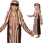 CHILDRENS KIDS BOYS SHEPHERD JOSEPH NATIVITY PLAY FANCY DRESS COSTUME 31285