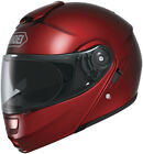 SHOEI Neotec Modular Motorcycle Helmet with Internal Sun Shield Wine