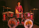 KEITH MOON 17 THE WHO DRUMMING (MUSIC) PHOTO PRINT