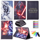 Cartoon Star Wars Case For Apple iPad Tablets PU Leather Stand Protective Cover $13.43 CAD