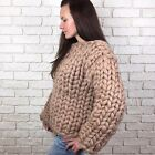 Super Chunky Merino Wool Sweater- Wool Sweater - Knitted Sweater -Chunky Sweater