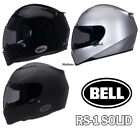 Bell RS-1 Solid Helmet All Colors and Sizes Motorcycle Helmets