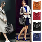 Fashion Women Lady's PU Faux Leather Zipper Shoulder Bag Handbag Organizer Purse