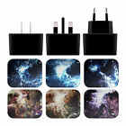 ANDI GREYSCALE NEBULA 2 BLACK UK CHARGER & MICRO-USB CABLE FOR SONY PHONES 1