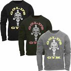 Gold's Gym 2017 Muscle Joe Crew Neck Sweater Mens Pullover Sports Jumper