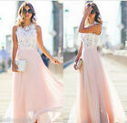 2016 New Fashion Women Gorgeous Matching Party Wedding Princess Long Dress