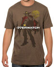 Overwatch McCree: Deadeye Adult T-Shirt - Official Video Game PlayStation Xbox