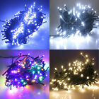 New 100-1000 LED Dark Green Cable String Fairy Lights Christmas Party Garden