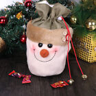 Santa Claus Snowman Xmas Gift Bag Candy Pouch Stocking  For Christmas