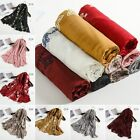 Fashion Women Long Scarf Cotton Indian Large Scarves Butterfly Ladies Shawl #137