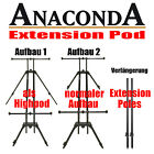 Anaconda Extension Pod - High Pod + Tasche - auch Quick Lock Extension Pole's