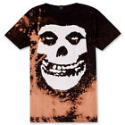 "Vintage Wear LA ""The Misfits"" Skeleton Hand Bleached Vintage Licensed Band Tee"