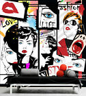 3D Fashion Illustrated Wall Paper Print Decal Wall Deco Indoor wall Murals Home