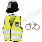 4-12 CHILDRENS KIDS BOYS LONDON POLICEMAN POLICE COP FANCY DRESS COSTUME OUTFIT