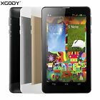 XGODY Unlocked 7'' inch HD 3G Dual Sim WCDMA/GSM Android 4.4  Cell Phone Phablet