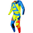 FOX 180 NIRV YELLOW/BLUE PEE-WEE /TODDLER COMBO BOYS - JERSEY & PANTS