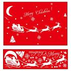 Merry Christmas Removable Shop Window Sticker Wall Home Decor Snowflake Vogue