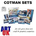 Winsor & Newton COTMAN WATERCOLOUR GIFT SETS artists paint tubes half/whole pans