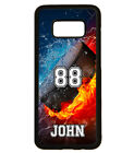 PERSONALIZED NAME NUMBER HOCKEY PUCK PHONE Case For Samsung Galaxy S8 S7 NOTE 8