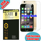 Full Coverage Front+Back Tempered Glass Screen Protector Film For iPhone 6 / 6S