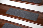 Dean Non-Skid DIY Peel & Stick Carpet Stair Treads - Color: Upshot Charcoal