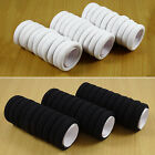 Black & White Small Elastic Women Girls Hair Bands Ropes Rings Ponytail Holder