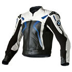BMW Motorbike Leather Jacket Sports Racing Motorcycle Leather Jacket CE Armors