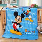 New Cartoon Flannel Kids Blanket Baby Throws Smooth Mats Rugs Free Fast Shipping