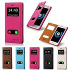New S View Window Case Protective Shockproof Phone Cover Flip Wallet Book Shell