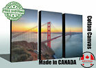 "Huge canvas print, Golden Gate Bridge, Sunrise, up to 60""x40"", READY TO HANG"