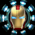 Iron Man Mouse PC Laptop Game 2.4G Wireless Mouse Mute Wireless Mice Gift