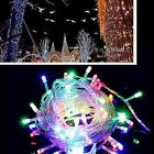 10M 100 LED Fairy String Lights Warm White Wedding Birthday Party Outdoor/Indoor