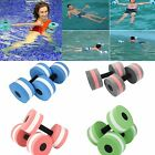 2X Water Aerobics Dumbbell MEDIUM Aquatic Barbell Aqua Fitness Pool Exercise Hot image