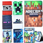 Cute Minecraft Flip Pu Leather Cover Case For Ipad 2 3 4 5 6 Air 2 Mini 1 2 3 4