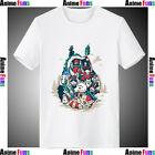 New Totoro Spirited Away Cartoon Cotton Short Sleeve T-shirt Loose Fit Tee Top