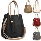 KOREA NEW Women's Bag Faux Leather Tassel Medium Shoulder, Cross Handbag Purse