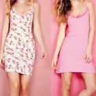 AVON TWO PACK CHEMISE ONE PINK ONE FLORAL SIZES 6-8, 10-12, 22-24 IDEAL GIFT NEW