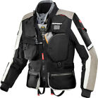 Spidi Black Hard Track Adventure Touring Jacket With Removable Water Proof Liner