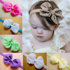 Kids Girls Headband Baby Toddler Flower Hair Bow Band