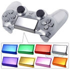 Custom Touch Pad Buttons Replacements For PS4 Wireless Controller Chrome Color